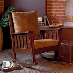 Alfred Zahn Ltd - Belham Living Remington Mission Rocker - Walnut Brown - 91-0401 - Shop for Rocking from Hayneedle.com! With a chair this comfortable you'll be rocking around the clock. With its classic Mission style the Remington Mission Rocker - Walnut blends stylish seating and quality craftsmanship. Available only at Hayneedle this elegantly designed rocking chair is cushioned for ultimate comfort. The seat and chair back feature easy-to-clean microfiber cushions in brown. The arms are flat and wide with stylish vertical slats under the armrests. Constructed of durable birch wood in a warm walnut finish this indoor rocker has a 20-inch seat height. Assembly is required.About Belham LivingBelham Living builds catalog-quality furniture in traditional styles at a price that actually makes sense. By listening to our customers and working closely with great manufacturers we build beautiful pieces worthy of your home. Rich wood finishes attention to detail and stylish lines that tie everything together are some of the hallmarks of a Belham Living piece. From the living room or bedroom through the kitchen and out onto the deck there's something from an incredible Belham collection perfect for your style.