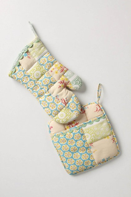 Eclectic Oven Mitts And Pot Holders by Anthropologie