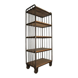 NOIR - NOIR Furniture - Lennon Shelf - GBCS121OW - Features: