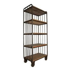 NOIR - NOIR Furniture - Lennon Shelf - GBCS121OW - Features: