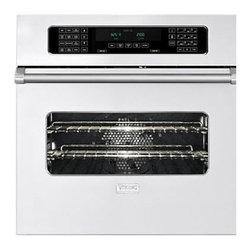 """Viking 30"""" Single Electric Wall Oven, White 