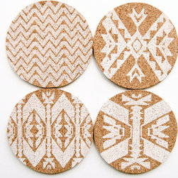 Mojave Letterpress Coasters by In Haus Press - I like the sweater pattern found on these coasters. They're a perfect match for your cup of hot cocoa.