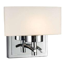 Elk Lighting - Elk Lighting 17080/1 Eastbrook Modern Bathroom Light in Polished Chrome - Elk Lighting 17080/1 Eastbrook Modern Bathroom Light in Polished Chrome