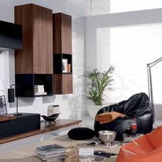 Modern Media Storage by BA Furniture Stores