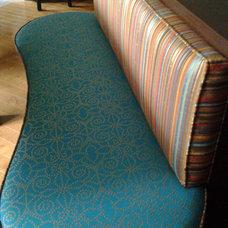 Eclectic Indoor Benches by Studio NOO Design