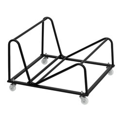 Flash Furniture - Flash Furniture Stack Chairs Plastic Stack Chairs X-GG-YLLOD-881-TUR - This Stack Chair Dolly by Flash Furniture is perfect when it comes time to set-up or remove temporary seating. The durable steel construction makes this dolly designed especially for commercial usage. [RUT-188-DOLLY-GG]