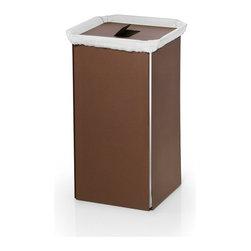 Modo Bath - Bandoni 53443 Laundry Basket , Brown - Bandoni by WS Bath Collections Laundry Basket