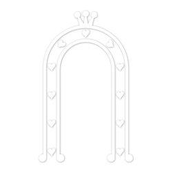 My Wonderful Walls - Princess Arbor Stencil for Painting - - Princess arbor stencil
