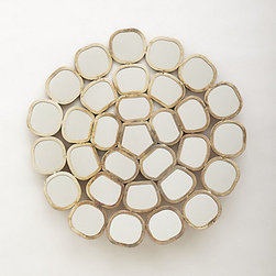Anthropologie - Honeycomb Ring Mirror - Those bees are some pretty amazing designers. I'm loving this gorgeous honeycomb pattern as a mirror. So wonderful!