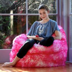 Sheepskin Bean Bag Chairs - Bean Bag Chairs for Girls Pink https://www.ultimatesheepskin.com/product/sheepskin-bean-bag-chair-3-color-choices/