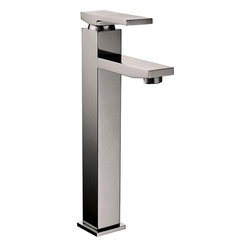 YOSEMITE HOME DECOR - Single Handle Lavatory Faucet - Washerless Cartridge Single Handle Lavatory Faucet Brushed Nickel No Pop up drain included