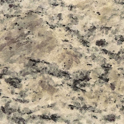 Pegasus - Vanity Top Samples: Pegasus Counter Tops 4 in. x 4 in. Santa Cecilia Granite - The 4 in. x 4 in. Santa Cecilia granite sample is a useful aid to help you select the best choice of vanity top for your installation project. This sample is made from beautiful natural stone. Granite products offer a one-of-a-kind appearance and as such samples will vary somewhat from the products they are intended to represent.