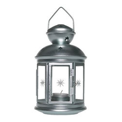 IKEA of Sweden - Rotera Lantern for Tea Light, Galvanized - A row of these would be perfect for lining a backyard deck for a summer grilling party. Suitable for both indoor and outdoor use, this affordable lantern can also easily become a quick DIY project with your choice in paint color!