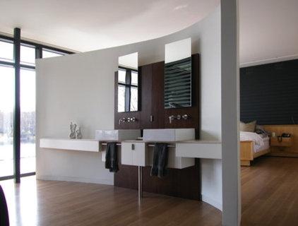 Modern Bathroom by Abelow Sherman Architects LLC