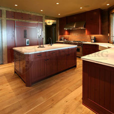 Traditional Kitchen by Heidelberg Wood Flooring