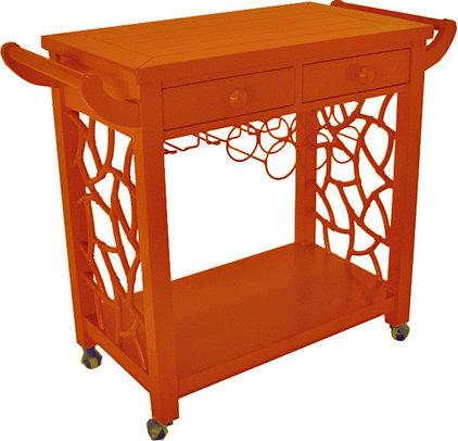 Asian Bar Carts by Beth Connolly