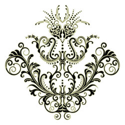 Odhams Press - Chantilly Sage RETile Decal, Clear Background - RETile decals can be used to accent or transform your existing ceramic, stone or glass tiles. They are easy to apply and can be removed in the future without leaving a sticky residue.