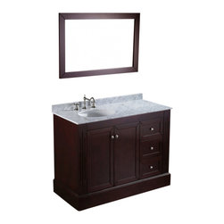 "Bosconi - Bosconi SB-255 45"" Contemporary Single Vanity - Bosconi SB-255 45"" Contemporary Single Vanity"