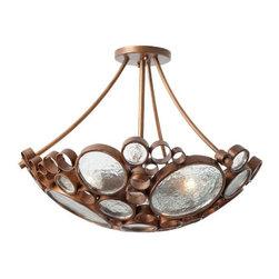Fascinator Ceiling Light - Ceiling Fixtures - Lighting   HomeDecorators.com -