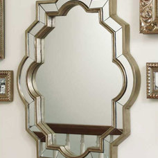 Eclectic Mirrors by Colom and Brit Interiors