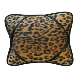 "Leopard iBuddy Tablet Pillow For iPad - Our iBuddy tablet holder is designed for the iPad, iPad2, Kindle DX or other tablets and touch pads of similar size. Comes in a variety of colors and patterns to accommodate all age groups!  Supported Devices: iPad & Tablet Holder Pillow For iPad, iPad 2, iPad 3, iPad 4, iPad with Retina Display, Kindle DX, Kindle Fire 8.9"" 4G, Nook HD+, Samsung Galaxy Tab 10.1 & Google Nexus 10"