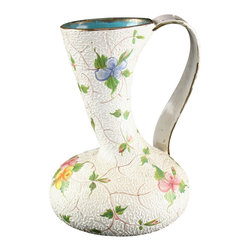 Ars - Consigned Vintage Italian Hand-Painted Deruta Vase - Product Details