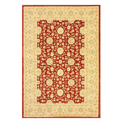 """nuLOOM - Traditional 7' 10"""" x 11' Red Machine Made Area Rug Persian Oriental Style - Made from the finest materials in the world and with the uttermost care, our rugs are a great addition to your home."""