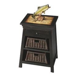 Butler Specialty - Butler Specialty Chairside Table -2984120 - Butler products are highly detailed and meticulously finished by some of the best craftsmen in the business.