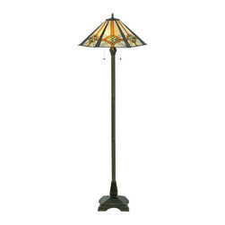craftsman lighting mission style floor lamp lighting find lamps. Black Bedroom Furniture Sets. Home Design Ideas