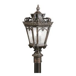 Kichler - Kichler 9559LD Tournai 4 Light 30 Inch Tall Outdoor Post Light - Kichler 9559 Tournai Outdoor Post Light