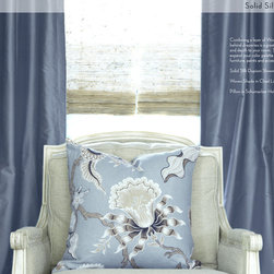 Newport Beach - When it comes to luxury custom silk and linen drapery there is really one secret of better interior decorators that you need to know.  Designers and Decorators who really want to bring value to their Clients will almost always specify blackout curtains and drapery for their homes.  If you are in the warm tropical climate in Florida or in the cold and wet Northeast Blackout Curtains will make a huge difference for your home.  Blackout will reduce the light (almost all of it) from passing through your drapes and ultimately increase the life time of your drapes, carpet and upholstery.
