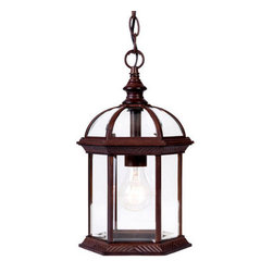 "Acclaim Lighting - Acclaim Lighting 5276 Dover 1 Light 13.75"" Height Outdoor Pendant - Acclaim Lighting 5276 Dover One Light 13.75"" Height Outdoor PendantLovely glass enclosed exterior pendant from the Dover Collection will add a classy touch to your home.Acclaim Lighting 5276 Features:"