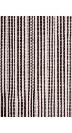 Hook & Loom Rug Company - Lenox Brown/White Rug - Very eco-friendly rug, hand-woven with yarns spun from 100% recycled fiber.  Color comes from the original textiles, so no dyes are used in the making of this rug.  Made in India.