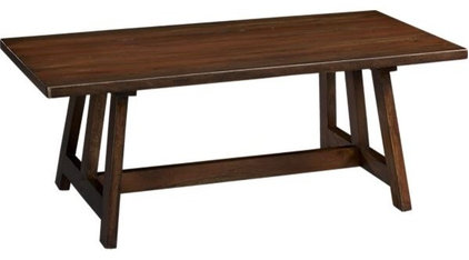 dining tables by Crate&Barrel