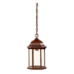 "Acclaim Lighting - Acclaim Lighting 5186 Madison 1 Light 14"" Height Outdoor Pendant - Acclaim Lighting 5186 Madison One Light 14"" Height Outdoor PendantClassic 'carriage house' style exterior pendant from the Madison Collection. Acclaim Lighting 5186 Features:"