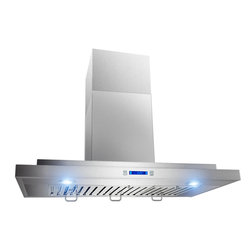"AKDY - AKDY AG-Z198KD Ductless Stainless Steel Wall Mount Range Hood, 36"" - AKDY products offer the best in contemporary design matched with the latest in appliance technologies to transform the way you live. Sporting a bold, dramatic look and state of the art features, this collection provides the perfect combination of style and innovation throughout your kitchen. The AKDY 198KD wall mount range hood features 760 CFM centrifugal blower, 3 fan speeds with quiet operation. Optional recirculating kits are available."