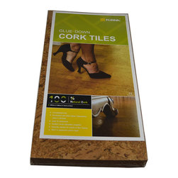 Forna - Low VOC Cork Floor  4mm Forna Natural Cork Tiles - Salami (21.31 SF) - This one is a great price for a great cork flooring. Salami is a light, natural color of yellow/honey amber  the beautiful color of oak.
