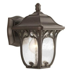 Progress Lighting - Progress Lighting Outdoor Lanterns. Enchant Collection Espresso 1-Light Wall Lan - Shop for Lighting & Fans at The Home Depot. Welcome your guests with a gracious, paisley pattern inspired coach light that features clear, seeded glass panels. Constructed of durable materials for years of enjoyment. Rich, hand painted finish. Open bottom design allows for easy access to change bulb.