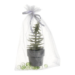 Silk Plants Direct - Silk Plants Direct Glittered Mini Christmas Tree (Pack of 12) - Pack of 12. Silk Plants Direct specializes in manufacturing, design and supply of the most life-like, premium quality artificial plants, trees, flowers, arrangements, topiaries and containers for home, office and commercial use. Our Glittered Mini Christmas Tree includes the following: