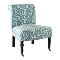 Safavieh - Safavieh Orson Side Chair X-A0454RCM - Care Instruction: To prevent overall soiling, frequent vacuuming or light brushing is recommended. Cushions and pillows should be turned on a weekly basis. Down-filled cushions should be brushed rather than vacuumed. Spot clean, using a mild water-free solvent or dry cleaning product. Only a professional cleaner should undertake a complete overall cleaning. The use of steam or water-based cleaners may cause excessive shrinking or staining.