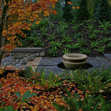 Asian  by jonathan craggs garden design