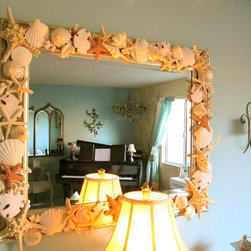 Custom Made Accessories & Furniture - Custom Made Shell Mirror's