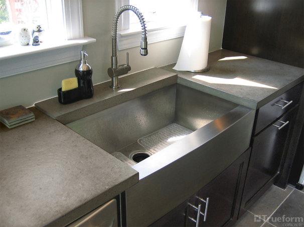 Contemporary Kitchen Countertops by Trueform Concrete