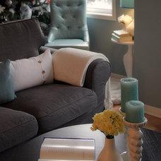 Contemporary Living Room Marianne Zivanovic