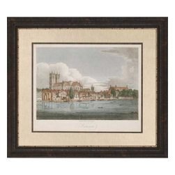 Paragon - View of Westminster - Framed Art - Each product is custom made upon order so there might be small variations from the picture displayed. No two pieces are exactly alike.