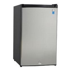 Avanti - Avanti Stainless Steel Counterhigh 4.5 Cubic Foot Refrigerator - Avanti stainless steel counter high 4.5 cubic foot refrigerator.