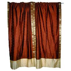 Asian Curtains by Mogulinterior