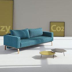 Cassius Coz Sleeper Sofa-Oak Legs -