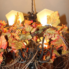 Traditional  Rustic Grapevine Chandelier