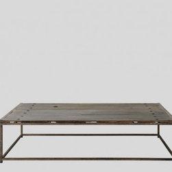 Anton Coffee Table – Old Elm -